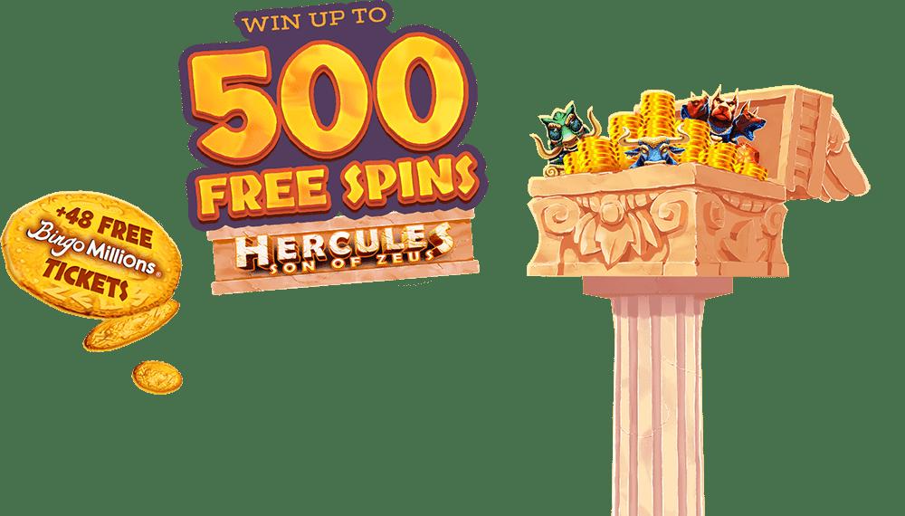 zeus bingo bonus spins