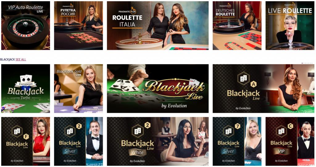 playojo live casino games