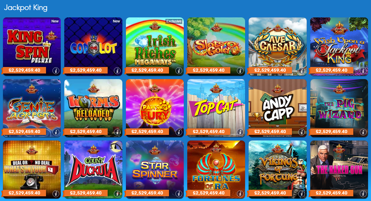 William Hill Bingo Jackpot Slots