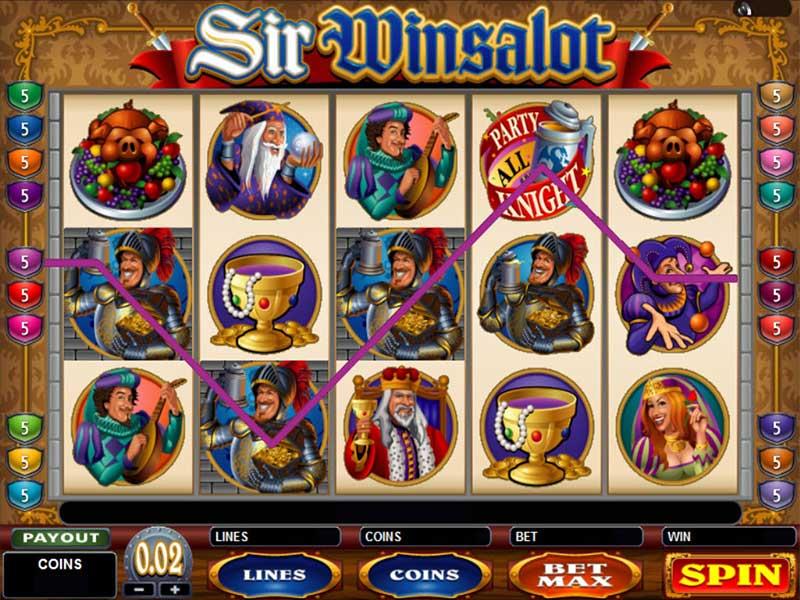 Sir Winsalot Slot